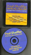 PAUL SHAFFER 4TRX sampler w/ AC/DC & Led Zeppelin TRX PROMO CD David Letterman