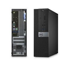 Dell Optiplex 5050 SFF i7-7700 3.6GHz16GB 256GB SSD Dual Radeon R5 430 Graphics