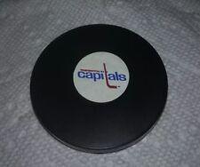 1984-85 KELLOGGS PREMIUM TOY WASHINGTON CAPITALS HOCKEY PUCK DISC.