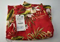 BNWT Zara Floral Bermuda Shorts Size Small RRP £25