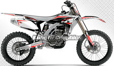 KUNGFU GRAPHICS Yamaha YZ250F YZF250 2010 2011 2012 2013 Sticker Decal Vinyl Set