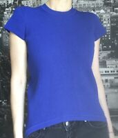 Scanlan and Theodore Top, Size SM/10, Blue Knit