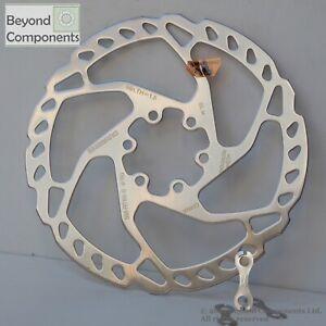Shimano Stainless Rotor SLX/ Deore SM RT66 Bike Brake Rotors 6 Bolt 160mm MTB