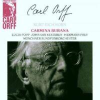 KURT EICHHORN/LUCIA POPP/UA - CARL ORFF-CARMINA BURANA  CD 28 TRACKS CHOIR  NEU