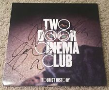 TWO DOOR CINEMA CLUB SIGNED AUTOGRAPH TOURIST HISTORY ALBUM w/PROOF ALEX TRIMBLE