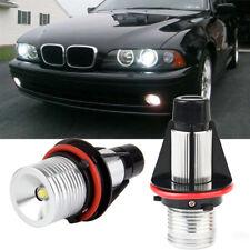 For BMW Angel Eyes Halo White LED Ring Marker Light Bulbs X5 E39 E60 E63 E64 E53