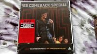 Elvis Presley '68 Comeback Special 50th Anniversary Edition CD + Blu-Ray Box Set