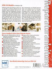 Repair manual KTM LC4 LC4 Enduros u. Super motos ab Model 1987 Band 5272