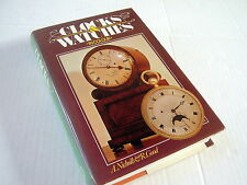 A. NICHOLS & R. GOOD: CLOCKS & WATCHES IN COLOUR~NEW ORCHARD EDITIONS~1985