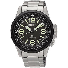 *Brand New* Seiko Men's Prospex Automatic Black Dial Steel Case Watch Srpa71