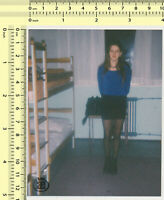 #065 Woman Female Lady Girl Portrait in Room vintage photo original old snapshot