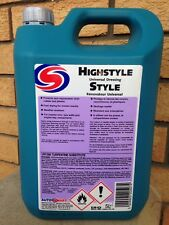 Autosmart High Style Tyre Shine Silicone Universal Dressing 5l