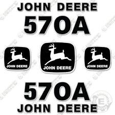 Deere 570a Motor Grader Decal Kit Equipment Decals Road Grader Asphalt