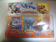 Pack de 3 figurines Skylanders Giants Pop Fizz / Whirlwind / Trigger Happy. Neuf