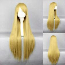 Ladieshair Cosplay Wig Perücke blond 80cm glatt Naruto Tsunade