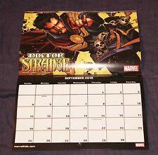 MARVEL COMICS 2016 CALENDAR AMAZING SPIDER MAN X-MEN IRON HULK DOCTOR STRANGE