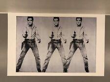 Andy Warhol Triple Elvis Print 11 X17 In. Poster