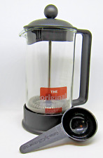 Bodum Brazil French Press 3-cup Coffee Maker 12-ounce Black
