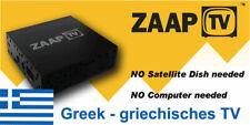 ZaapTV HD709N inkl. 1 Jahr ZaapTV Greek / Griechisches Fernsehen IPTV