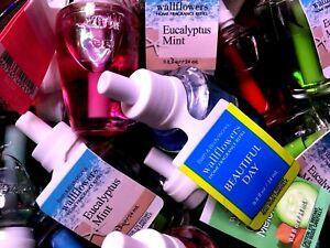 """Bath & Body Works Wallflowers - 4 Single Refill Bulbs """"Your Choice"""""""