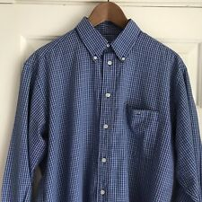 Lacoste 41 Mens Check Shirt Large