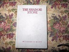 Rare The Shadow Stone Mildred Wirt Benson author of Nancy Drew 1937 Cupples Leon