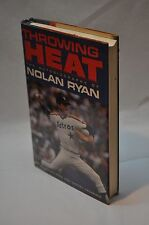 Nolan Ryan ~ Throwing Heat ~ SIGNED ~ 1st Edition / 1st Printing ~ Hardcover