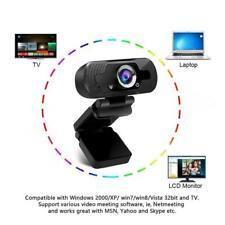 1080P HD Webcam USB Computer Web Camera For PC Laptop Desktop Video Cam 1 pcs