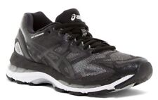 NIB ASICS Women's Gel-Nimbus 19 Running Shoe Black/Onyx/Silver Sz 9