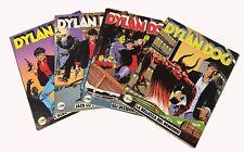 Dylan Dog n°1-2-5-6 edizione 1990/91 prima e seconda ristampa