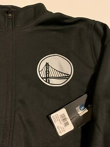 NWT Men's Black Golden State Warriors Jacket Size M