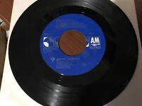 "Janet Jackson ""Rhythm Nation"" 45 on A&M Label 80's POP in EX"