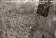 Romania Corbul Trench Military aerial Photo WWI 1917