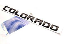 1x OEM Black COLORADO Nameplate Alloy Letter Emblem for COLORADO Chevrolet uWU