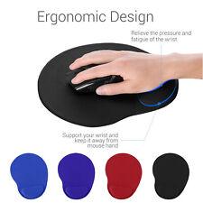 Ergonomic Comfort Wrist Support Mouse Pad Mat Computer PC Laptop With Wrist Rest