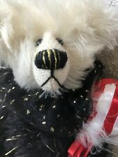 "VINTAGE HANDMADE Mohair Bear"" Jubilee"" So Cute 8 Inches Tall"