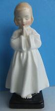 "Royal Doulton-Bedtime Hn1978-Corp 1945 ltdYoung Little Girl Praying 6"" Figurine"
