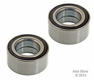 2 New Wheel Bearing Front Pair Left & Right 1 Year Warranty Free Shipping