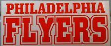 PHILADELPHIA FLYERS vinyl window decal