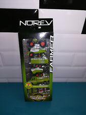 11.11.18.1 Claas coffret tracteur moissonneuse remorque Norev FARMER 3 inch