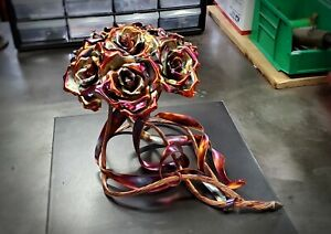 Copper Rose Anniversary Bouquet #1839 Valentine's Mother's Day Christmas Gift