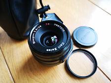 Contax G Carl Zeiss Biogon 28mm f2.8 lens - black body
