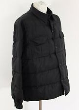 "ARMANI Mens Black GOOSE DOWN Filled COAT / JACKET - IT 50 - UK 40 - 40"" Chest"