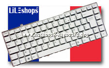 Clavier Fr AZERTY Sony Vaio VGN-FW5ERF/H VGN-FW5JTF/H VGN-FW5MTF/H VGN-FW5ZRF/H