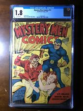 Mystery Men #12 (1940) - Good Girl Art! GGA! Blue Beetle!  - CGC 1.8 - Rare!