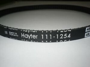 GENUINE HAYTER DRIVE BELT HA-111-1254