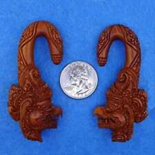 Garuda Tribal Gauges 0 Gauge (8mm) Earrings Plugs Body Piercing Jewelry