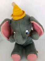 "Vtg Dumbo Elephant Plush 20"" Stuffed Walt Disney Characters California Toys"