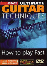 ULTIMATE GUITAR Learn to Play FAST FRET-BURNING SPEED TECHNIQUES Video DVD
