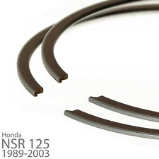 2x Kolbenringe für Honda NSR 125 R 1989-2003 + CRM 125 R (Kolben,Piston,Ring)